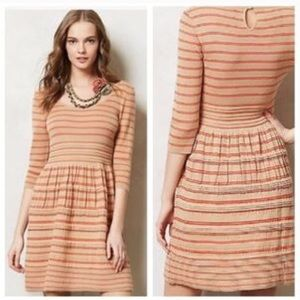 Anthropologie Knitted & Knotted Elodie dress XS